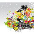 Music event background vector | Price: 3 Credits (USD $3)