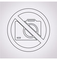 no photo icon vector image