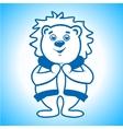 Polar bear Eskimo sign vector image vector image