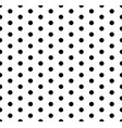 seamless polka dots pattern background vector image vector image