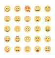 Smiley flat icons set 8