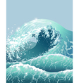 Wave side vector image vector image