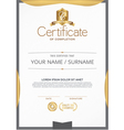 Certificate A beautiful clean vector image vector image