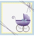 Cute template for baby card vector | Price: 1 Credit (USD $1)