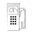 fuel station pump icon vector image vector image