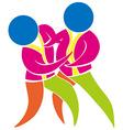 Judo icon in colors vector image vector image
