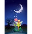Night Fairy vector image vector image