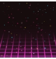 Old video game background vector image vector image