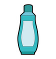 plastic bottle product icon vector image