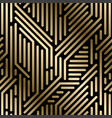 seamless geometric luxury pattern - techno vector image vector image