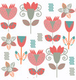 floral tropical odd seamless pattern it is vector image