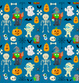 pattern for halloween vector image vector image