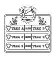 placard on the basketball courtbasketball single vector image vector image
