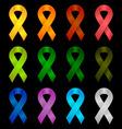 Ribbon Symbols vector image vector image