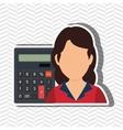 User calculator design vector image