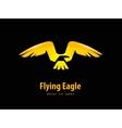 eagle logo design template animal or bird icon vector image