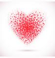 heart-pink vector image vector image
