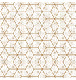 japanese gold background and pattern vector image vector image