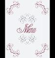 menu11 vector image vector image