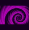 spiral fractal background vector image