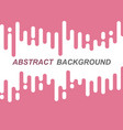 abstract pink rounded lines transition vector image vector image