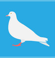 dove icon different color vector image vector image