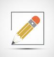 Pencil drawing Stock vector image