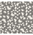 Seamless Black and White Triangle Sunburst vector image vector image