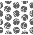 seamless pattern for boy Sports balls on vector image vector image