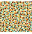 triangle pattern retro seamless background vector image vector image