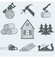 Woodworking vector image