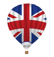 balloon with United Kingdom flag vector image vector image