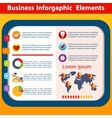 Business infographic flat design