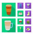 Drink and bar logo set of