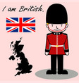 i am british vector image