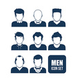 men icon design vector image vector image
