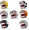 Screaming sports vector image