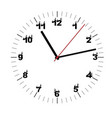 simple black and white watch second edition vector image