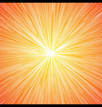sun burst blast background vector image vector image