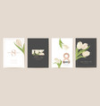 woman day 8 march holiday card spring floral vector image vector image