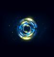 abstract hi tech futuristic telecoms vector image vector image