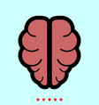 brain it is icon vector image
