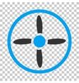 Drone Screw Icon vector image vector image