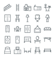 Furniture Cool Icons 4 vector image vector image