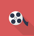 movie reel icon set of great flat icons with vector image