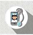 nurse 24-hour health pharmacy isolated icon design