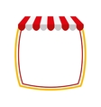 parasol store shop icon vector image