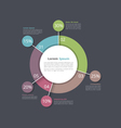 Pie Chart Infographics vector image