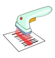 Scanner icon isometric style vector image vector image