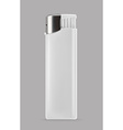 White lighter promotional items mockup vector image vector image